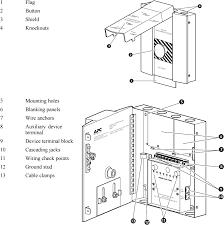 apc epw9 emergency power off (epo) switch bomara associates Epo Wiring Diagram box components for the epw9 epo switch wiring diagram