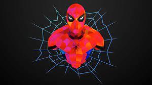 Spiderman Abstract, HD Superheroes, 4k ...