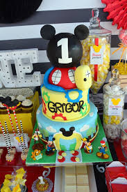 Karas Party Ideas Mickey Mouse 1st Birthday Party