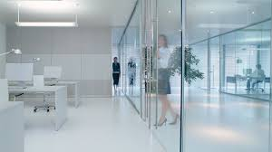 contemporary glass office. Partitions And Accessories Adorable Contemporary Modern Made Of F Toilet Stall Transparent Glass Has Workspace Office Steel Handles R