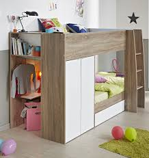 ellio bunk bed white dakota oak for children kids bedroom excerpt sunroom furniture ikea kids bedroom kids bed set cool bunk beds