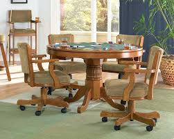 kitchen table with rolling chairs dining room table chairs casters me elegant sets with caster within