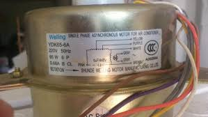 air conditioner fan wiring diagram air wiring diagrams split ac outdoor fan motor connection doityourself com community