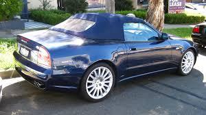 Aussie Old Parked Cars: 2002 Maserati 4200 GT Spyder