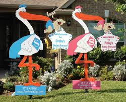 Photo Stork Yard Signs By Image
