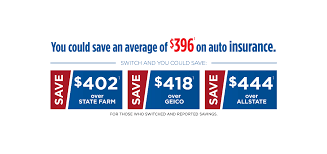 you could save an average of 396 on auto insurance