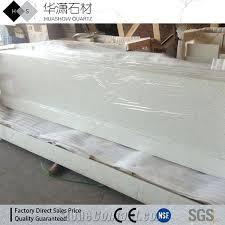 white quartz countertops with sparkle artificial white