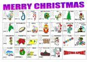 The phonetic alphabet is the list of symbols or codes that shows what a speech sound or letter. Christmas Alphabet Esl Worksheet By Milagrin