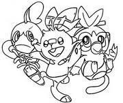 Kleurplaten Pokémon Sword En Shield Morning Kids