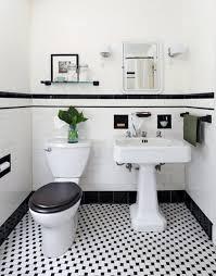 black and white bathroom floor tile. 31 retro black white bathroom floor tile ideas and pictures pinterest