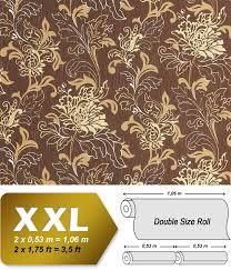 Xxl Bloemen Behang Edem 604 94 Vliesbehang Floral Motief Design
