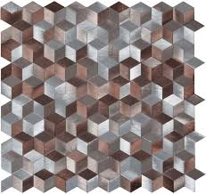 original style astral copper mosaic 270x260mm