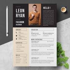 Modern Unique Resume 041 Creative And Professional Resume Cv Free Psd Template