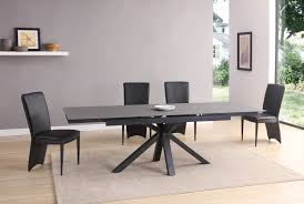 dining table with 10 chairs. Black \u0026 Grey Stone Glass Dining Table And 10 Chairs With I