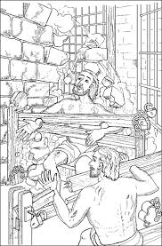 Paul And Silas Coloring Page - FunyColoring