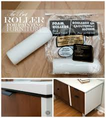 How To how to paint a door with a roller images : Quick-Tip-Tuesday ~ The Best Roller For Painting Furniture ...And ...
