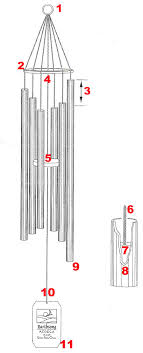 Grace Notes Wind Chimes Design