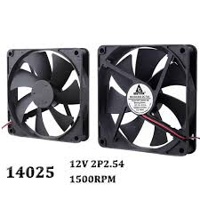 <b>Gdstime 1 Piece DC</b> 140mm 12V 2Pin 140x140x25mm 14025 CPU ...