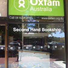 photo of oxfam second hand book adelaide south australia australia