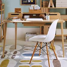 Popular Home Desk Intended For How To Create Retro Office Desks Mid