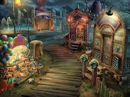You will be given a list and be in a scene with many items. Start Finish Circus Road Environment Design For Hidden Object Puzzle Adventure Game Starttofinish Startfinish Envi Circus Game Art Environment Design