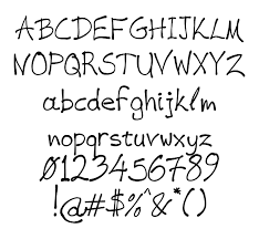 Cool Fonts To Write In Cool Handwritten Fonts Clipart Images Gallery For Free