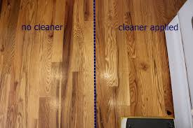 diy wood floor cleaner apply to floor