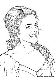 Small Picture Hermione Granger Who Is Angry Harry Potter Coloring Pages