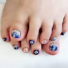 夏秋冬海フット ネイルサロン Crystal Candyのネイルデザインno