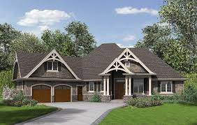 Prairie Style Home Plans Designs Plan 69533am 3 Bedroom Craftsman Home Plan Craftsman