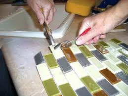 gallery of cutting glass tile how to cut sheets with a wet saw sipapp acceptable modest 9
