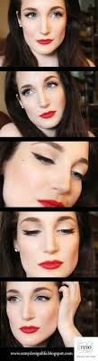 pinup style makeup notes aren t in english but i think you can still follow hair english makeup and note