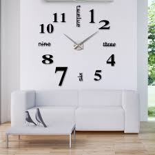 Small Picture Wondrous Large Contemporary Wall Clock 107 Extra Large
