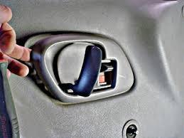 removing plastic trim around door handle gm truck
