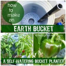 how to make an earth bucket