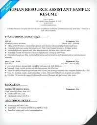 Human Resources Assistant Resume Examples Hr Assistant Template Human Resources Resume Strand