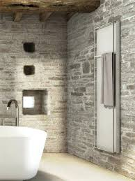 awesome bathrooms. Stone Wall Bathroom Awesome Bathrooms Designs With White Bathtub And Natural