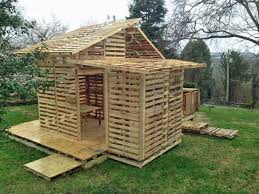 Pallet house plans and ideas   give new life to old wooden palletspallet house design ideas backyard escape ideas summer shed