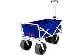 folding garden cart. Mac Sports Heavy Duty Collapsible Folding All Terrain Utility Beach Wagon Cart Garden