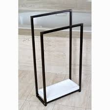 standing towel rack. Free Standing Towel Bars Racks And Stands You Ll Love Wayfair Rack D