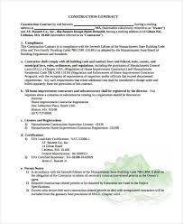 Legal Contract Extraordinary 44 Legal Contract Templates Free Sample Example Format Download