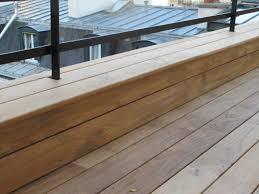 Habiller Un Mur Extérieur En Bois Terrasse En Teck Faible Hauteur