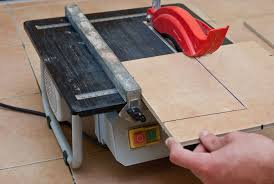 how to cut tile with wet saw