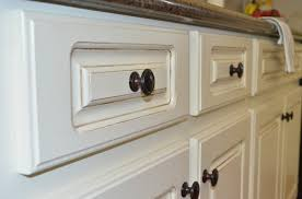 white painted glazed kitchen cabinets. Painted Kitchen Cabinets White Glazed N