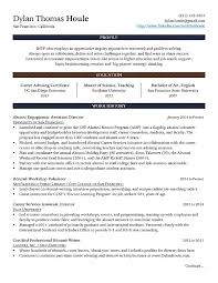 Certified Career Advisor Bay Area Dylan Houle My Resume