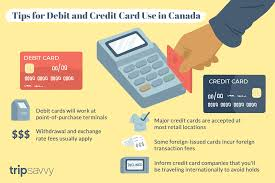 credit and debit card use in canada