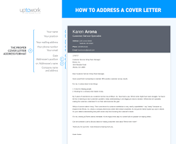 How To Address A Cover Letter How to Address a Cover Letter Sample Guide [24 Examples] 1