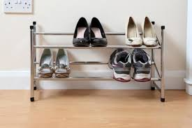 home and office storage. Premier Chrome 2 Tier Shoe Rack -1900227 Home And Office Storage R