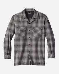 Pendleton Shirt Size Chart Mens Fitted Board Shirt