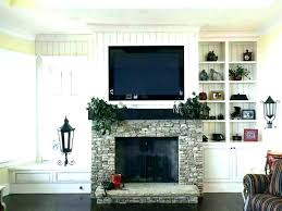 wall mount fireplace ideas mounting in corner ideas hang how high to
